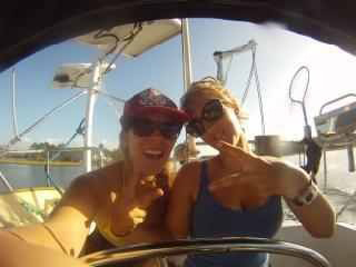 A fun day out on Paramour with Racheal