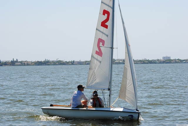 Racing 420's at the MYC Spring Regatta